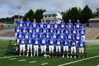 Smoky Mountain Mustangs Boys Varsity Football Fall 18-19 team photo.