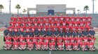 Yorba Linda Mustangs Boys Varsity Football Fall 18-19 team photo.