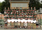 East Lincoln Mustangs Boys Varsity Football Fall 18-19 team photo.