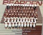 Bearden Bulldogs Boys Varsity Football Fall 18-19 team photo.