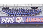 West Memphis Blue Devils Boys Varsity Football Fall 18-19 team photo.