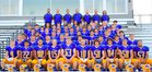 Sheridan Broncs Boys Varsity Football Fall 18-19 team photo.