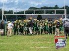Smithfield Sentinels Boys Varsity Football Fall 18-19 team photo.