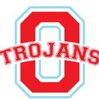 Olympic Trojans Boys Varsity Football Fall 18-19 team photo.