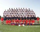 Roosevelt Rough Riders Boys Varsity Football Fall 18-19 team photo.