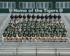 Adairsville Tigers Boys Varsity Football Fall 18-19 team photo.
