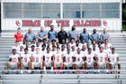 South Central Falcons Boys Varsity Football Fall 18-19 team photo.