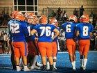 Canutillo Eagles Boys Varsity Football Fall 18-19 team photo.