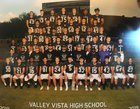 Valley Vista Monsoon Boys Varsity Football Fall 18-19 team photo.