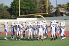 Lincoln Lancers Boys Varsity Football Fall 18-19 team photo.