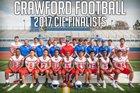 Crawford Colts Boys Varsity Football Fall 18-19 team photo.