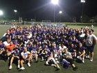 Douglas County Huskies Boys Varsity Football Fall 18-19 team photo.