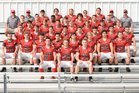 Beekmantown Eagles Boys Varsity Football Fall 18-19 team photo.