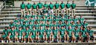 Athens Academy Spartans Boys Varsity Football Fall 18-19 team photo.
