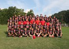 Perry County Central Commodores Boys Varsity Football Fall 18-19 team photo.