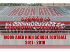 Moon Area Tigers Boys Varsity Football Fall 18-19 team photo.