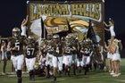 Laguna Hills Hawks Boys Varsity Football Fall 18-19 team photo.
