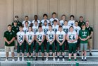 Charles Wright Tarriers Boys Varsity Football Fall 18-19 team photo.