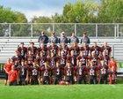 Black Hawk Warriors Boys Varsity Football Fall 18-19 team photo.