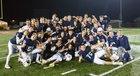 Saint Viator Lions Boys Varsity Football Fall 18-19 team photo.