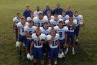 St. John's/Tipton Catholic Blujays Boys Varsity Football Fall 18-19 team photo.