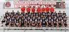Lancaster Legends Boys Varsity Football Fall 18-19 team photo.