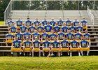 Line Mountain Eagles Boys Varsity Football Fall 18-19 team photo.