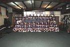 Ozark Hillbillies Boys Varsity Football Fall 18-19 team photo.