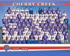 Cherry Creek Bruins Boys Varsity Football Fall 18-19 team photo.