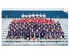 Lewisburg Patriots Boys Varsity Football Fall 18-19 team photo.