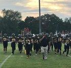 Hulbert Riders Boys Varsity Football Fall 18-19 team photo.