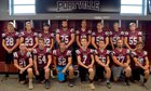 Portville Panthers Boys Varsity Football Fall 18-19 team photo.