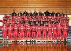 Franklin Pierce Cardinals Boys Varsity Football Fall 18-19 team photo.