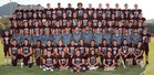 Desert Mountain Wolves Boys Varsity Football Fall 18-19 team photo.