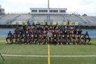 Boca Raton Bobcats Boys Varsity Football Fall 18-19 team photo.