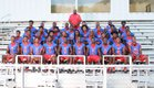 Central Cougars Boys Varsity Football Fall 18-19 team photo.