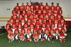Stafford Spartans Boys Varsity Football Fall 18-19 team photo.