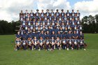 Blythewood Bengals Boys Varsity Football Fall 18-19 team photo.