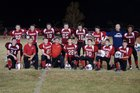 CenTex HomeSchool Chargers Boys Varsity Football Fall 18-19 team photo.