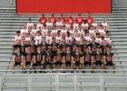 Saucon Valley Panthers Boys Varsity Football Fall 18-19 team photo.