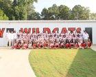 Calhoun City Wildcats Boys Varsity Football Fall 18-19 team photo.