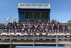 Venice Gondoliers Boys Varsity Football Fall 18-19 team photo.