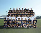 Leland Chargers Boys Varsity Football Fall 18-19 team photo.