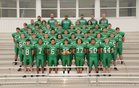Greenland Pirates Boys Varsity Football Fall 18-19 team photo.