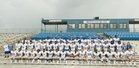 Monticello Billies Boys Varsity Football Fall 18-19 team photo.
