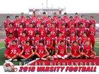 Bel Air Highlanders Boys Varsity Football Fall 18-19 team photo.