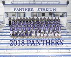 Fort Stockton Panthers Boys Varsity Football Fall 18-19 team photo.