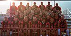 South Sevier Rams Boys Varsity Football Fall 18-19 team photo.