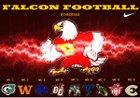 Prairie Falcons Boys Varsity Football Fall 18-19 team photo.