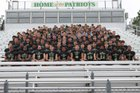 Pinecrest Patriots Boys Varsity Football Fall 18-19 team photo.